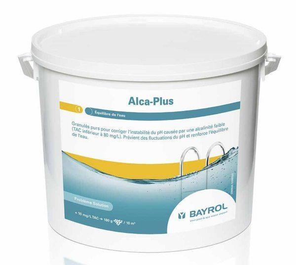 Seau 5 kg ALCA PLUS de BAYROL 2294524 granulés correction ph