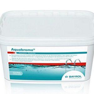 Brome lent 5 kg pour piscine BAYROL Aquabrome