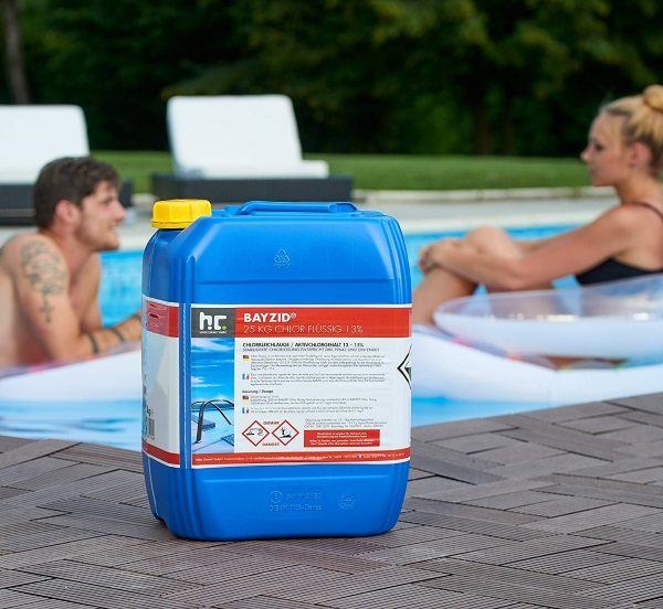 Bidon 25 Kg de chlore liquide BAYZID SW535 piscine