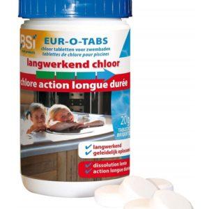 Chlore longue action BSI briquette 20 grammes