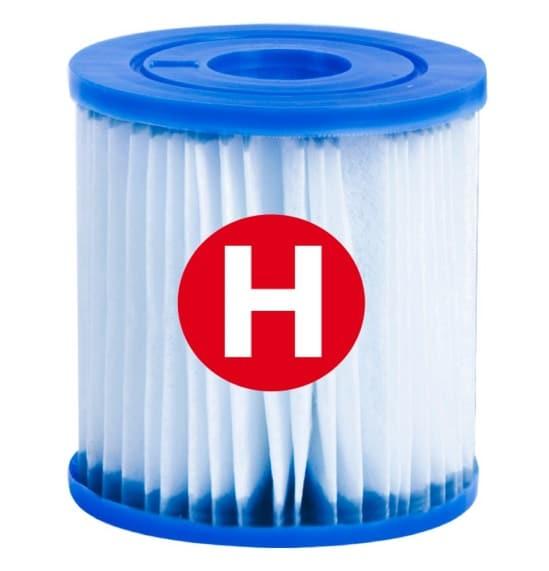 Filtre piscine INTEX type H (29007) cartouche