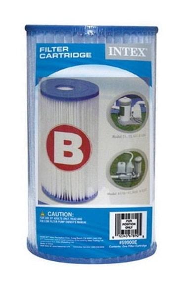 Filtre piscine INTEX type B (59905) emballage