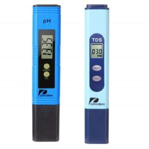 Testeur eau électronique piscine pH sel TDS PANCELLENT bleu