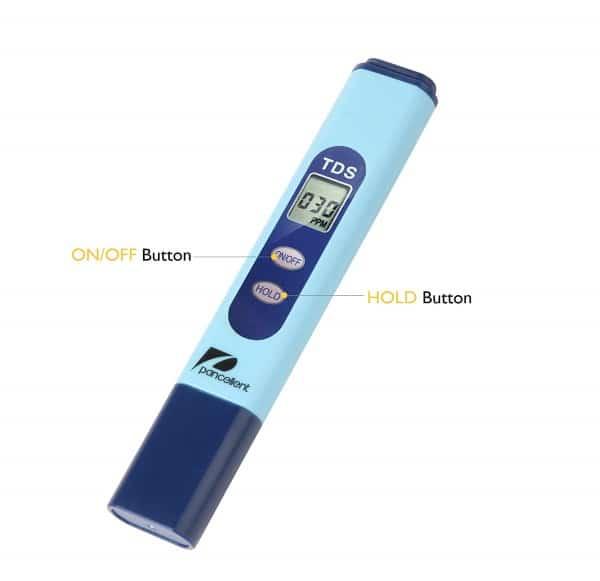 Cdrox TDS Eau Electrolyzer Test /Électrolyse Pen Filtre num/érique TDS puret/é qualit/é de leau testeur de Niveau EU Plug