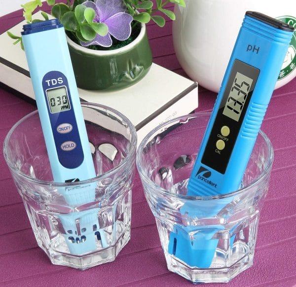 Testeur eau électronique piscine pH sel TDS PANCELLENT mesure