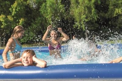 Achat piscine, marque Intex