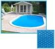 Bâche solaire ovale pour couverture piscine, épaisseur 180µ tailles multiples 3 mètres à 9 mètre, pour eau chaude conserver chaleur soleil top3