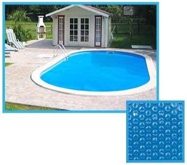 Bache à bulle ovale ou carré pour piscine enterrée ou hors-sol 2m, 3m, 4m, 5m, 6m, 7m, 8m et 9 mètres pour garder chaleur solaire du soleil top3