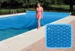 Bâche solaire rectangulaire pour couverture piscine, épaisseur 300µ tailles multiples 2 mètre à 15 mètres, pour conserver eau chaude grâce chaleur soleil top3