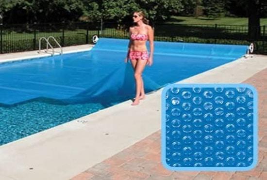 Bache à bulle rectangulaire sur mesure pour piscine tubulaire hors-sol ou enterrée 2m à 15 mètres, couverture solaire garder chaleur soleil top3