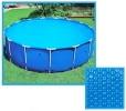 Bâche solaire ronde pour couverture piscine, épaisseur 160µ tailles multiples 2 mètre à 5 mètres, conserver chaleur soleil pour eau chaude top3