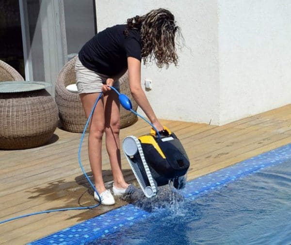 Robot piscine DOLPHIN Maytronics e20 vidange