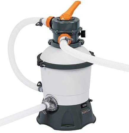 Filtre à sable 2 m3 pour piscine BESTWAY pompe 90 W résistant anticorrosion, filtration efficace idéal silice pour une eau propre et claire bain top4