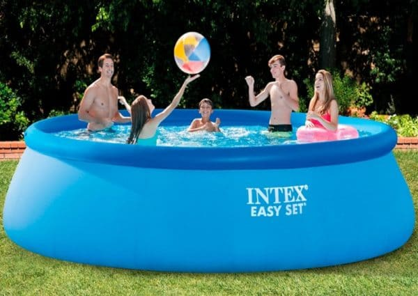 Piscine Easy Set autoportante INTEX 26166NP famille