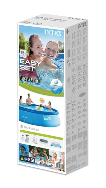 Piscine Easy Set autoportante INTEX 26166NP boite carton