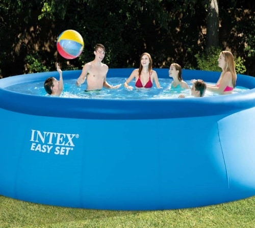 Piscine ronde autostable INTEX 26168NP famille