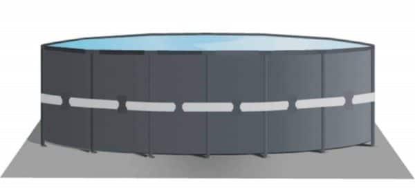 Piscine Ultra XTR ronde 4,88m x 1,22m 26326GN tapis de sol