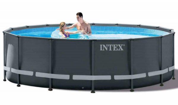 Piscine Ultra XTR ronde 4,88m x 1,22m 26326GN jeu eau