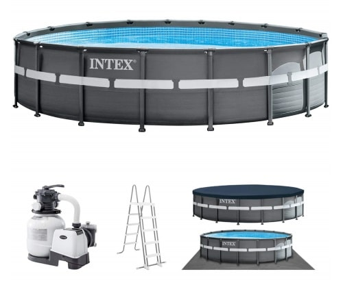 Piscine ronde tubulaire 26330GN Ultra XTR ensemble