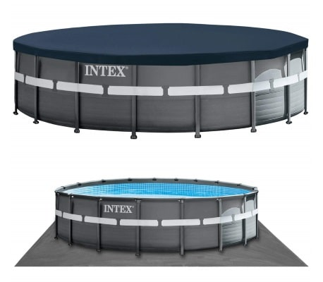 Piscine ronde tubulaire 26330GN Ultra XTR bâche protection