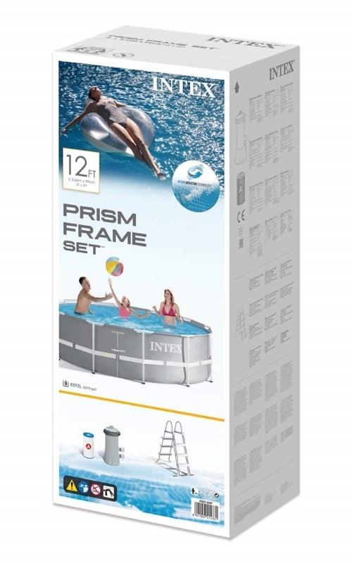 Piscine Intex Prism Frame 26716NP carton boite