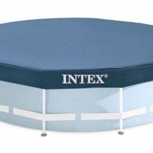 Bâche de protection piscine ronde 28031 INTEX couverture