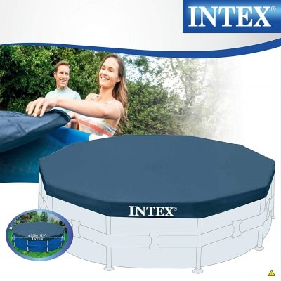 Bâche de protection piscine ronde 28031 INTEX boite