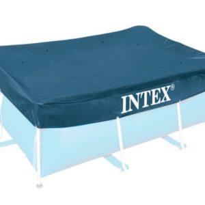 Bâche de protection piscine rectangulaire 28038 INTEX couverture