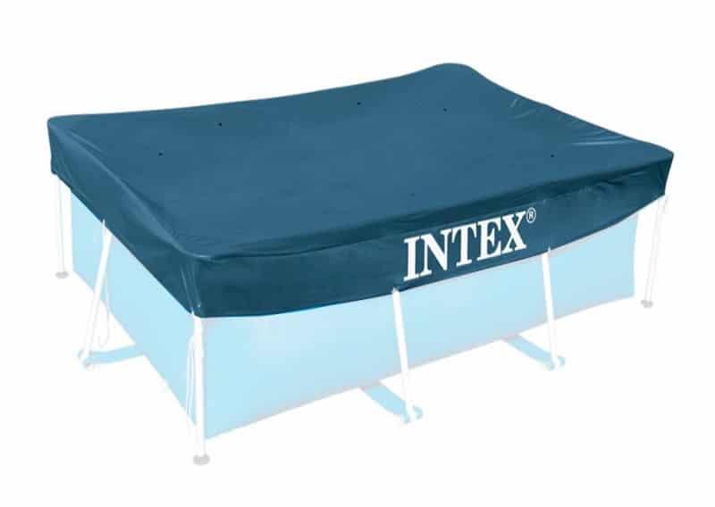 Intex 28038 Bâche De Protection Piscine 3m X 2m Rectangulaire 300x200 Rabat 20cm