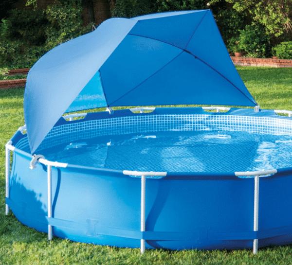 Ombrelle piscine INTEX 28050 montée