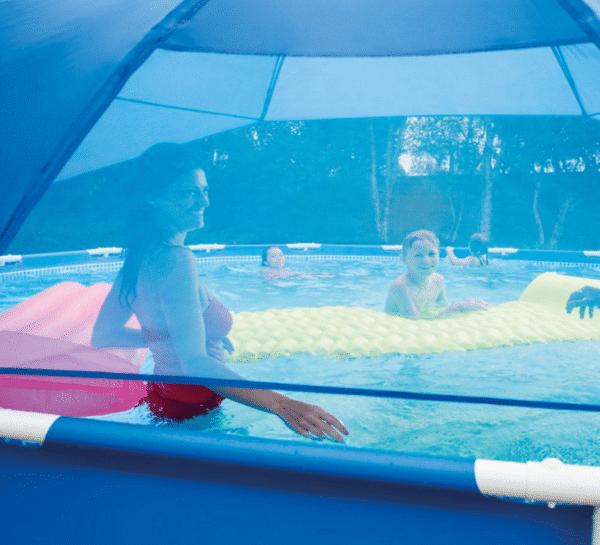 Ombrelle piscine INTEX 28050 transparence