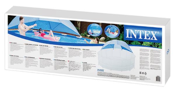 Ombrelle piscine INTEX 28050 carton boîte