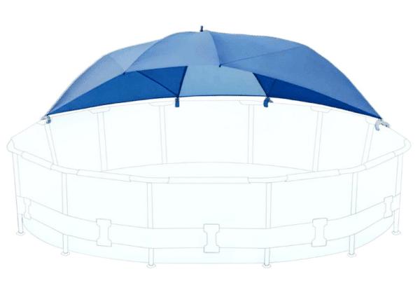 Ombrelle piscine INTEX 28050 montage