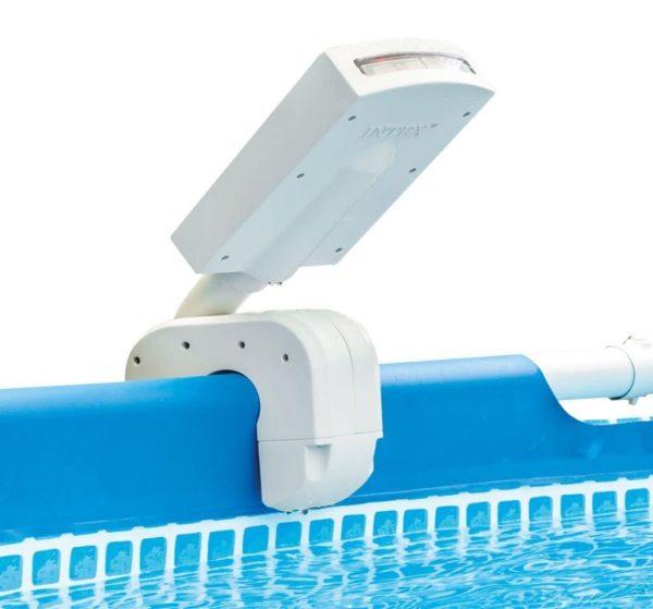Éclairage piscine led fontaine INTEX 28089 bord