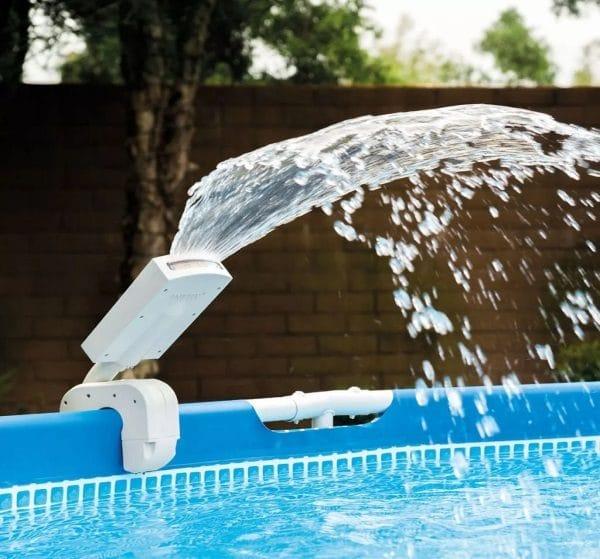 Éclairage piscine led fontaine INTEX 28089 eau