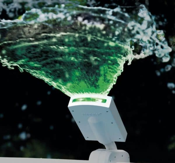Éclairage piscine led fontaine INTEX 28089 vert