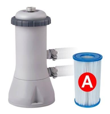 Piscine ronde autoportée INTEX 28132NP pompe filtration