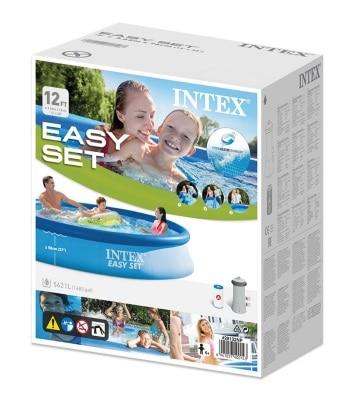 Piscine ronde autoportée INTEX 28132NP boite carton