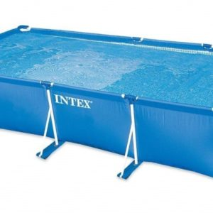 Piscine rectangulaire tubulaire 28274FR Metal Frame Junior extérieur
