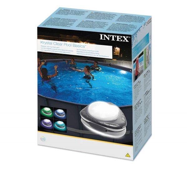 Éclairage piscine multicolore INTEX 28698 boite carton