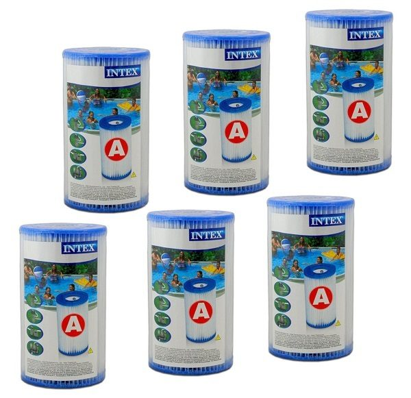 Filtre piscine INTEX type A pack de 6 (29000)
