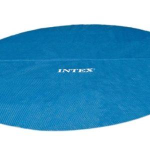 Bâche à bulle 29024 pour piscine INTEX extérieur