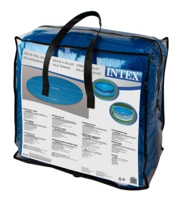 Bâche à bulle 29024 pour piscine INTEX sac transport