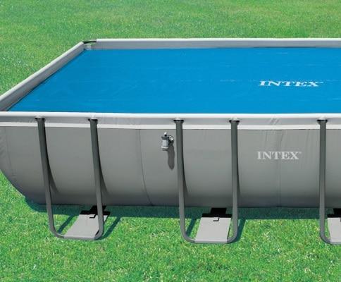 Bache à bulle rectangulaire INTEX 29028 piscine