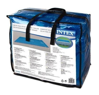Bache à bulle rectangulaire INTEX 29028 sac transport