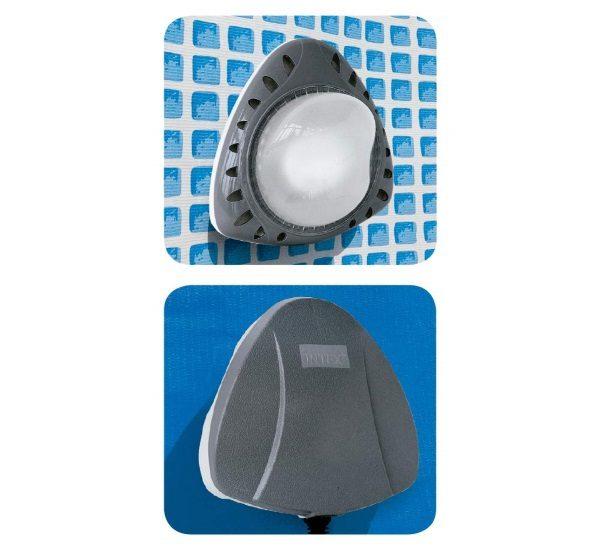 Lumière paroi piscine magnétique INTEX 56688 pièces