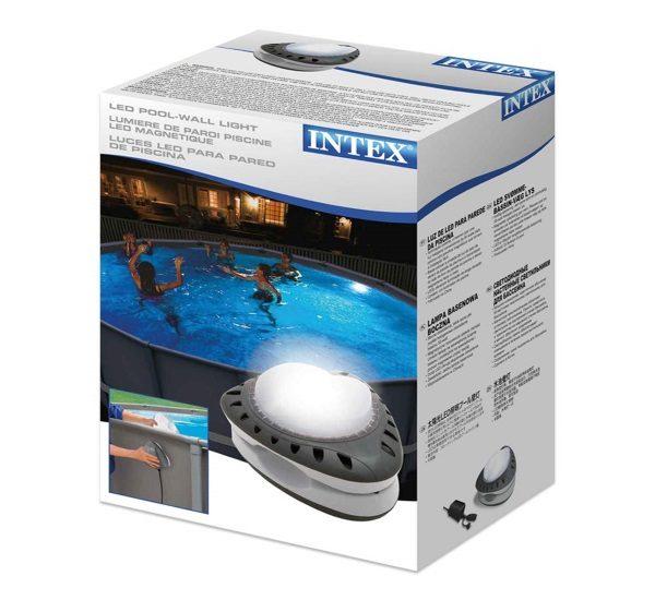Lumière paroi piscine magnétique INTEX 56688 boîte carton