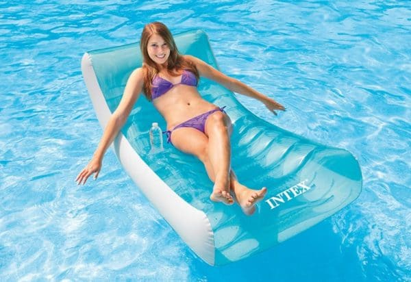 Fauteuil gonflable piscine INTEX 58856 eau