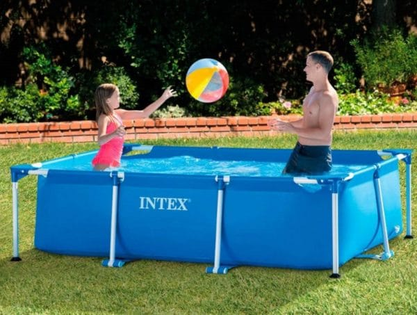 Piscine tubulaire intex 58983 jeu