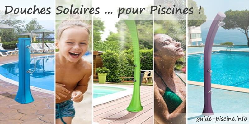 Meilleures douches solaires piscines pas cher, design, ou couleur, 35L et 40L, pvc inox pour chauffer gratuitement eau grâce aux rayons soleil top3